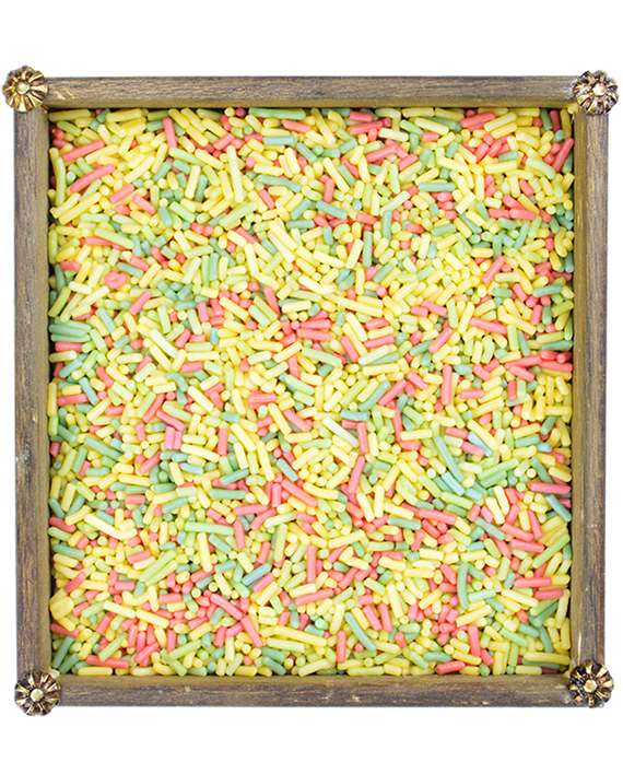 Fideos de colores
