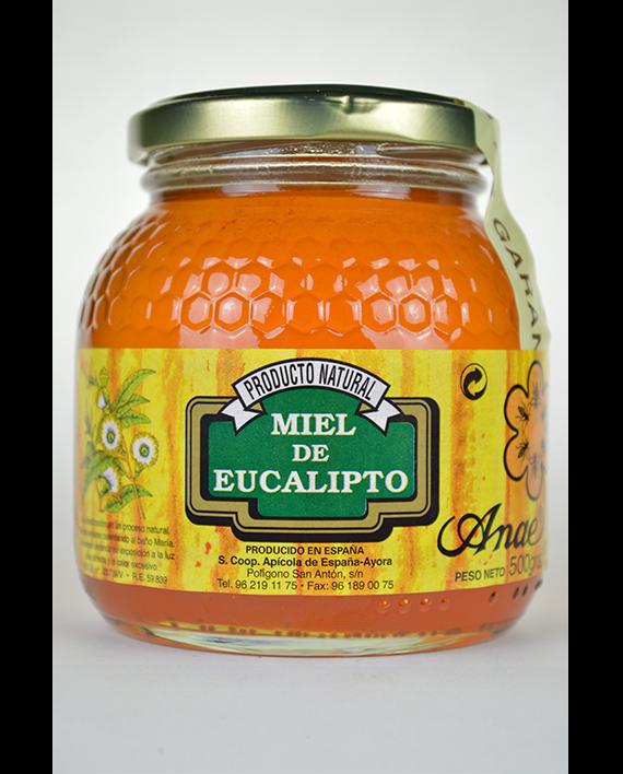 Miel de eucalipto de 500g