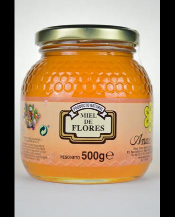 Miel milflores de 500g
