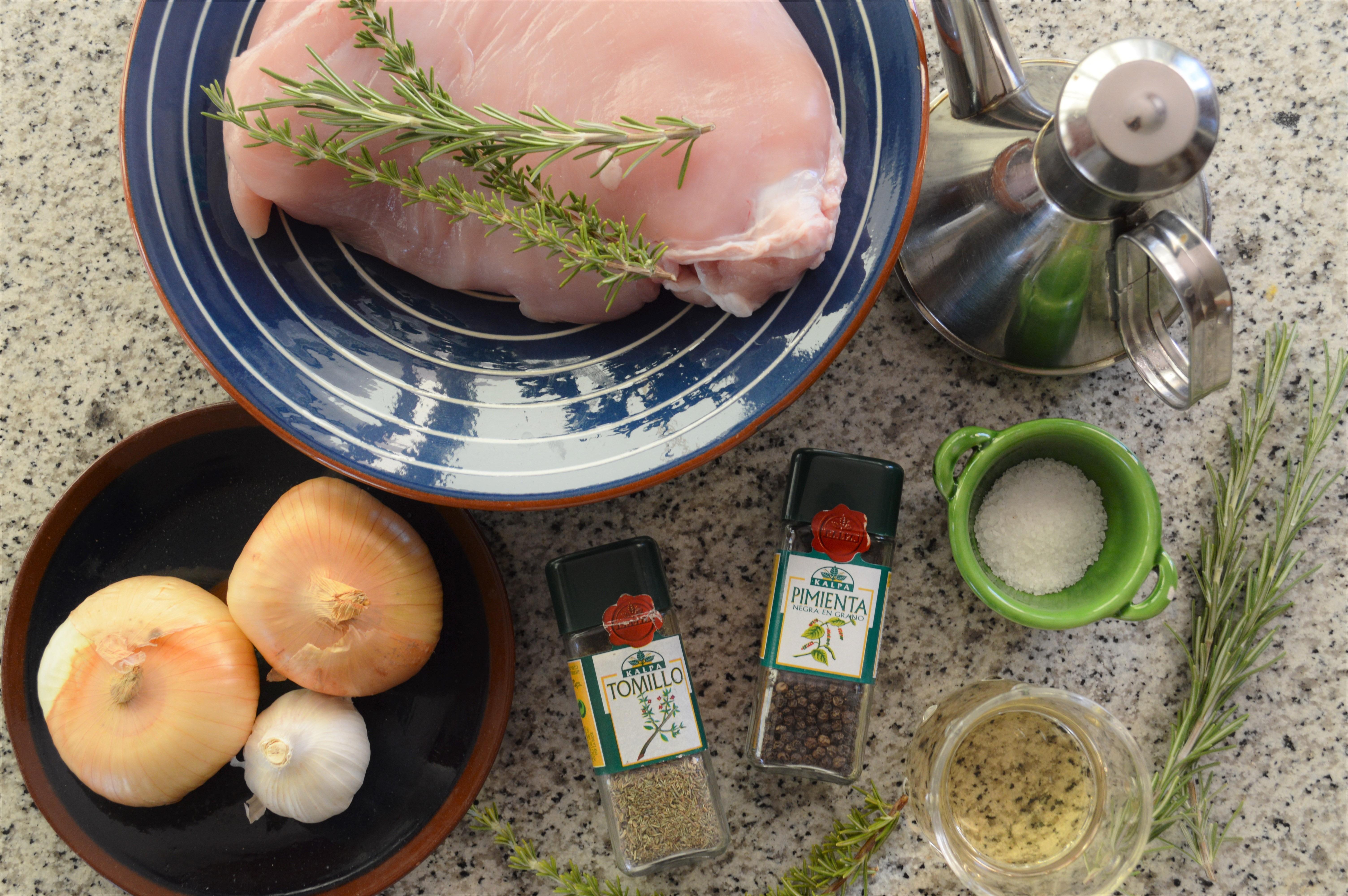 Ingredientes escabeche de pavo